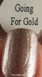 PISTOL polish Going for Gold MACRO 2
