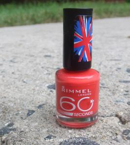 Rimmel Hot Chilli Pepper bottle