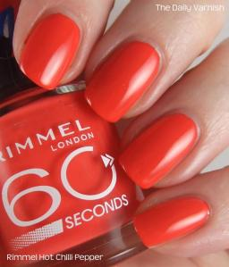 Rimmel Hot Chilli Pepper