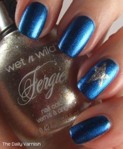 Wet n Wild Silver Star Manicure